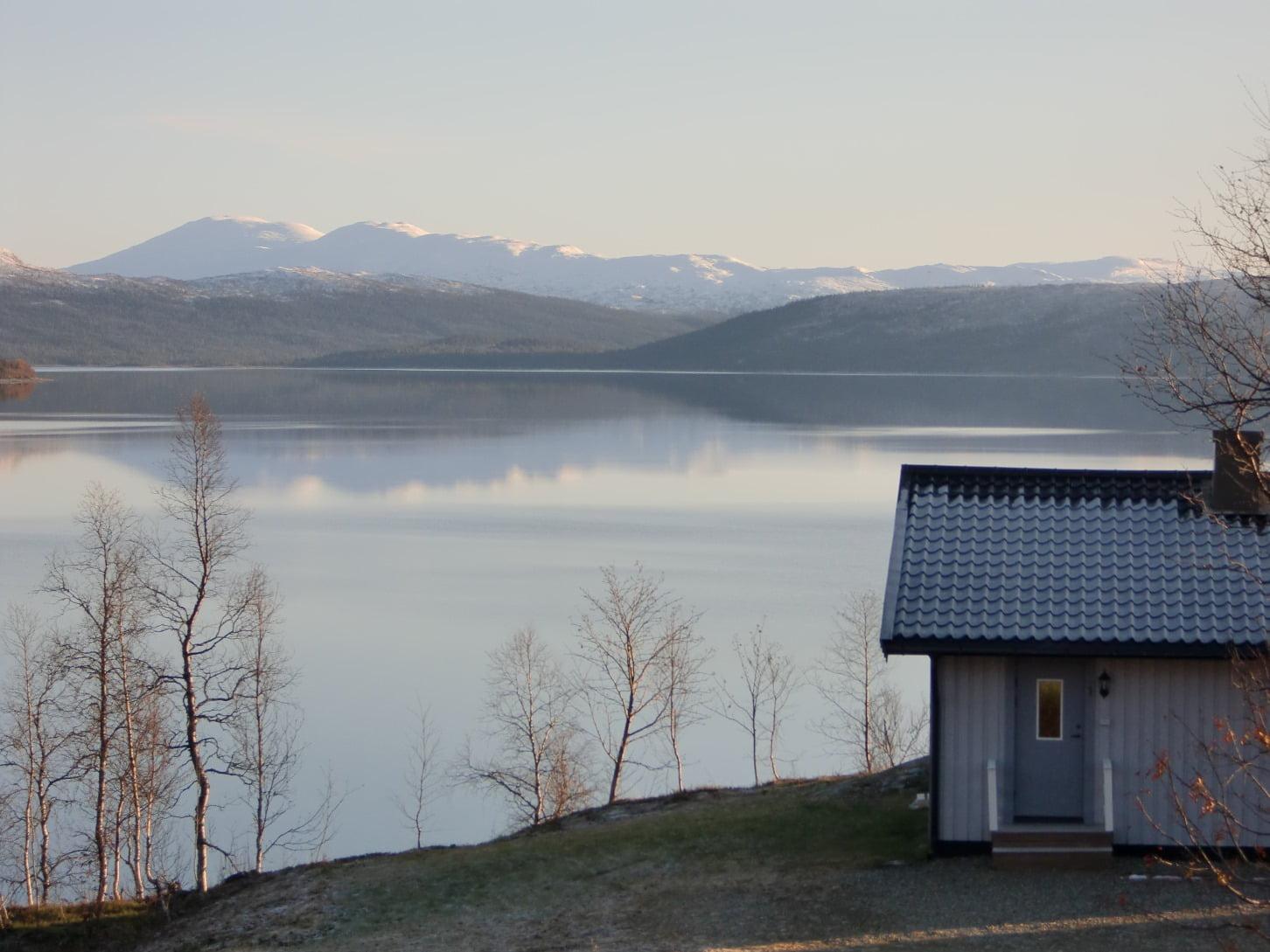 Hyra stuga vid Stora Blåsjön