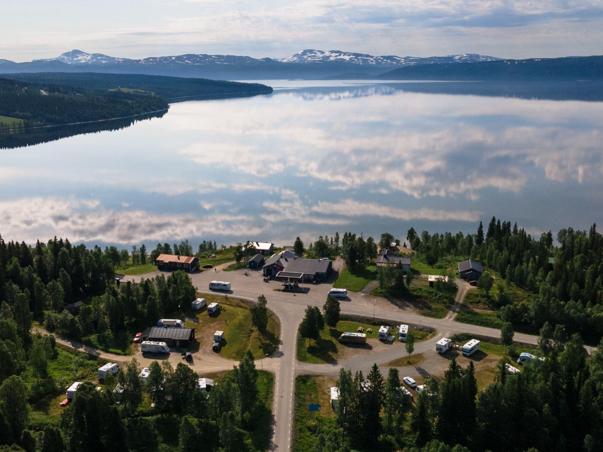 Camp Stora Blåsjön Översikt